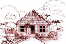 Cottage Exterior - Front Elevation Plan #79-146