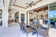 Mediterranean Style House Plan - 3 Beds 3.5 Baths 3700 Sq/Ft Plan #930-511