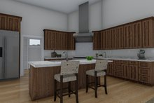 Architectural House Design - Craftsman Interior - Kitchen Plan #1060-70