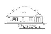 Architectural House Design - Farmhouse Exterior - Rear Elevation Plan #20-2351