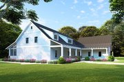 Farmhouse Style House Plan - 3 Beds 2 Baths 1982 Sq/Ft Plan #923-107 Exterior - Other Elevation