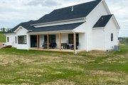 Farmhouse Style House Plan - 3 Beds 2.5 Baths 2282 Sq/Ft Plan #430-160 Exterior - Rear Elevation