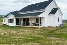 Farmhouse Exterior - Rear Elevation Plan #430-160