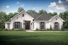 Dream House Plan - Traditional Exterior - Front Elevation Plan #430-214