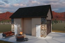 Dream House Plan - Country Exterior - Other Elevation Plan #1060-90