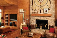 Craftsman Interior - Family Room Plan #929-800