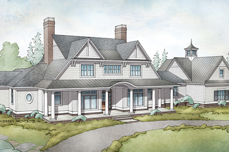 Country Exterior - Front Elevation Plan #928-284 - Houseplans.com