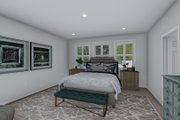Traditional Style House Plan - 3 Beds 2.5 Baths 2199 Sq/Ft Plan #1060-100 Interior - Master Bedroom