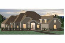 Country Exterior - Front Elevation Plan #937-13