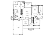 Country Floor Plan - Main Floor Plan Plan #437-72