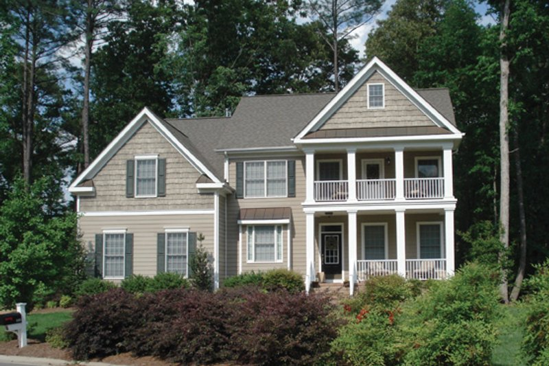 Home Plan - Classical Exterior - Front Elevation Plan #927-859