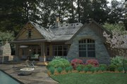 Craftsman Style House Plan - 3 Beds 2.5 Baths 2495 Sq/Ft Plan #120-191 Exterior - Rear Elevation