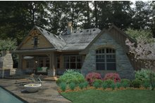 House Plan Design - Craftsman Exterior - Rear Elevation Plan #120-191