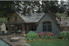 Dream House Plan - Craftsman Exterior - Rear Elevation Plan #120-191