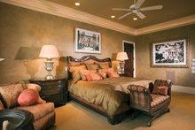 Architectural House Design - Mediterranean Interior - Master Bedroom Plan #453-604