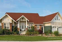 House Design - Craftsman Exterior - Front Elevation Plan #930-356
