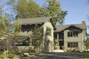 Craftsman Style House Plan - 2 Beds 3 Baths 3975 Sq/Ft Plan #928-15 Exterior - Front Elevation