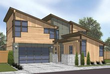 Contemporary Exterior - Front Elevation Plan #569-8