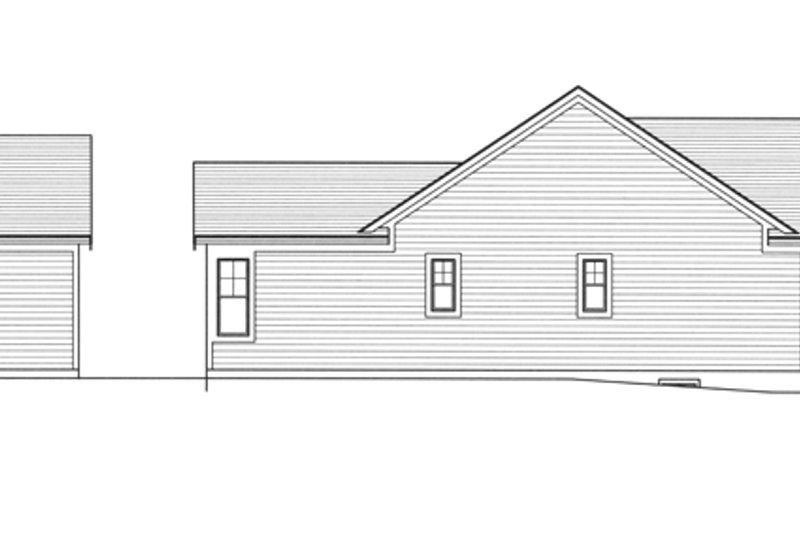 Craftsman Exterior - Other Elevation Plan #46-842 - Houseplans.com