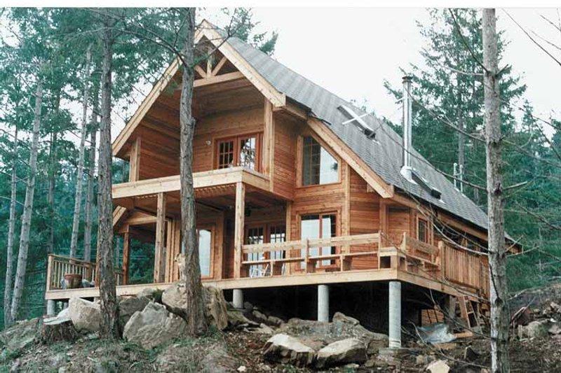 European Exterior - Front Elevation Plan #118-142 - Houseplans.com