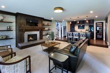 Craftsman Interior - Family Room Plan #928-224