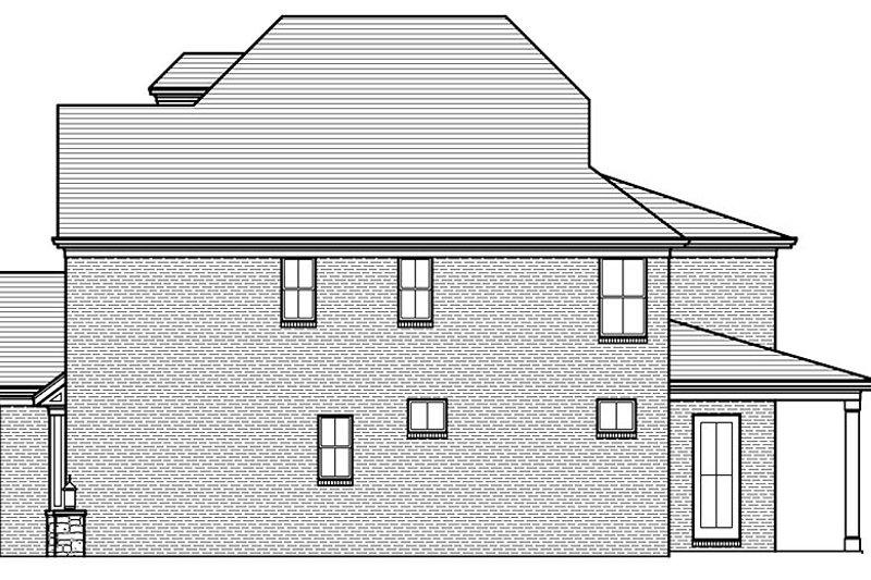European Exterior - Other Elevation Plan #46-857 - Houseplans.com