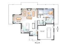Craftsman Floor Plan - Main Floor Plan Plan #23-2712