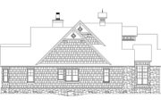 Craftsman Style House Plan - 4 Beds 4 Baths 2613 Sq/Ft Plan #929-905 Exterior - Other Elevation