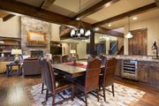 Craftsman Style House Plan - 5 Beds 5.5 Baths 4964 Sq/Ft Plan #892-27 Interior - Dining Room