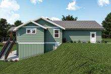 House Plan Design - Craftsman Exterior - Other Elevation Plan #1070-130