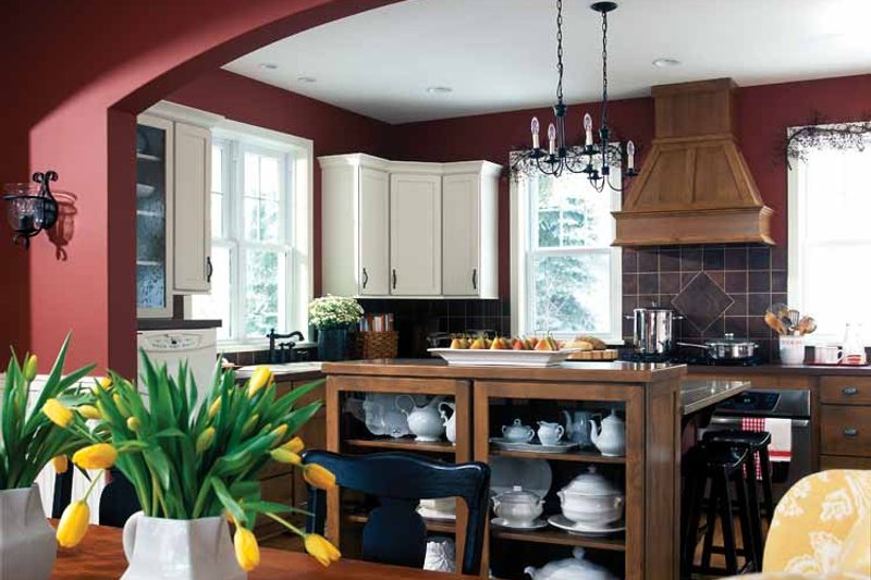 Country Interior - Kitchen Plan #928-49 - Houseplans.com