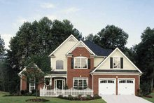 Country Exterior - Front Elevation Plan #927-120