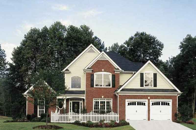 Country Exterior - Front Elevation Plan #927-120 - Houseplans.com