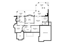 European Floor Plan - Lower Floor Plan Plan #119-419