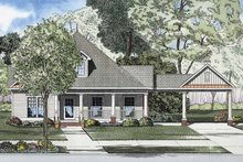 Home Plan - Bungalow Exterior - Front Elevation Plan #17-2865
