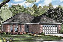 House Plan Design - Ranch Exterior - Front Elevation Plan #17-3200