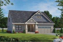 House Design - Craftsman Exterior - Front Elevation Plan #20-2463