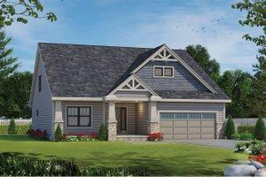 Craftsman Exterior - Front Elevation Plan #20-2463