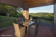 European Style House Plan - 4 Beds 3 Baths 2950 Sq/Ft Plan #929-29 Exterior - Outdoor Living