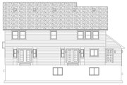 Farmhouse Style House Plan - 4 Beds 2.5 Baths 3356 Sq/Ft Plan #1060-1 Exterior - Rear Elevation