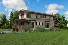 Contemporary Exterior - Other Elevation Plan #48-1020