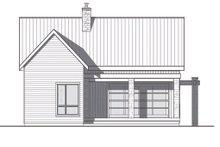 Contemporary Exterior - Rear Elevation Plan #23-2316