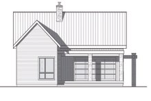 Dream House Plan - Contemporary Exterior - Rear Elevation Plan #23-2316