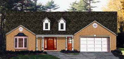 Traditional Exterior - Front Elevation Plan #3-131