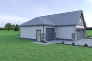 Craftsman Style House Plan - 3 Beds 2.5 Baths 2546 Sq/Ft Plan #1070-65 Exterior - Other Elevation