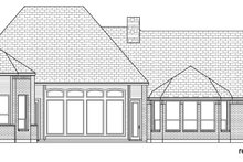Dream House Plan - Tudor Exterior - Rear Elevation Plan #84-609