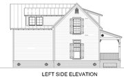 Cottage Style House Plan - 4 Beds 2 Baths 1353 Sq/Ft Plan #45-589 Exterior - Other Elevation