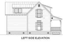 House Blueprint - Cottage Exterior - Other Elevation Plan #45-589