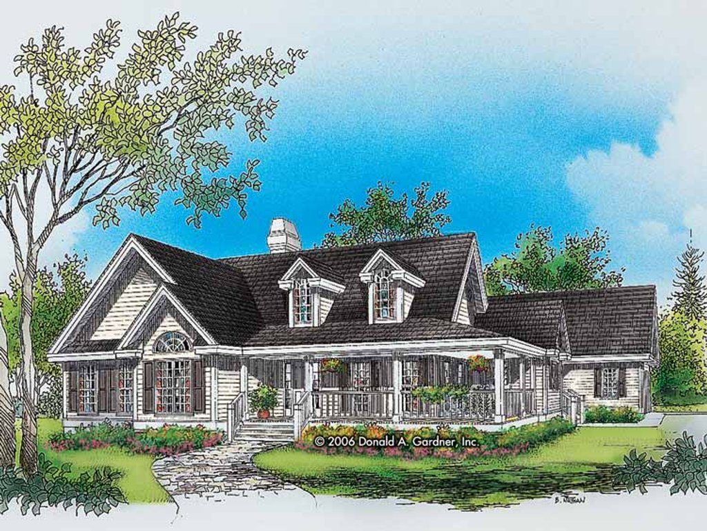 Country style house plan 3 beds 2 baths 1873 sq ft plan for Www homeplans com