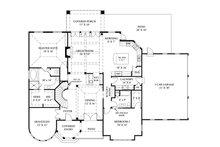 European Floor Plan - Main Floor Plan Plan #119-417